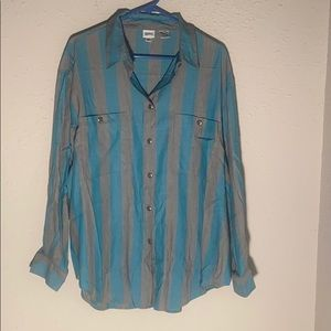 Women's Together Button Down 2X
